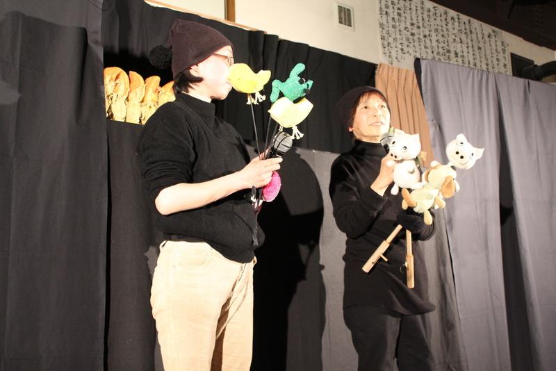 みほちゃんとれいちゃんの人形劇