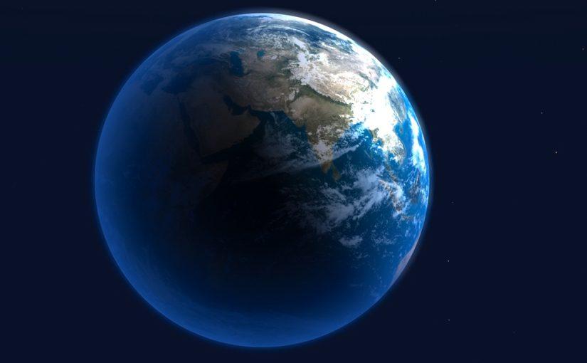 地球が回っていることを、感じていますか?